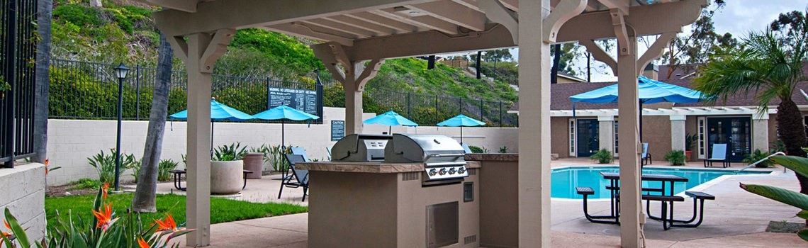 New BBQ & Patio areas