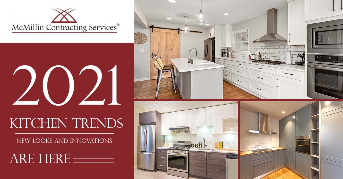 Top 2021 Kitchen Trends: New Looks and Innovations