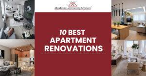 10 BEST APARTMENT RENOVATIONS