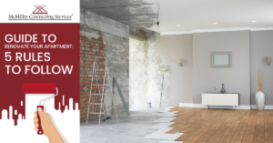 GUIDE TO RENOVATE YOUR APARTMENT 5 RULES TO FOLLOW